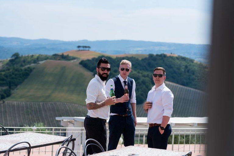 Becky & AlexIn Tuscany Italy 8