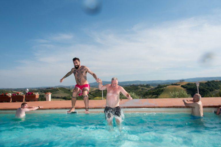 Becky & AlexIn Tuscany Italy 9