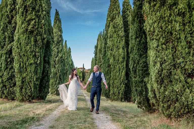 Becky & AlexIn Tuscany Italy 10