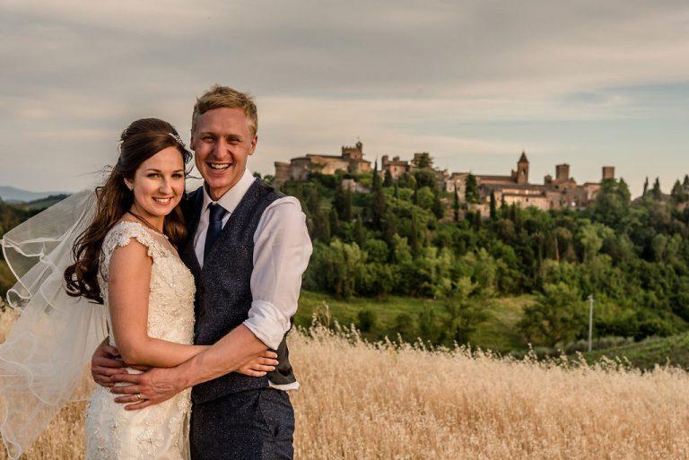 Becky & AlexIn Tuscany Italy 12