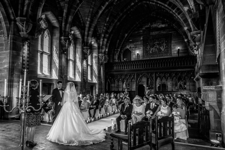 Chelsey & Andy At Peckforton Castle 7