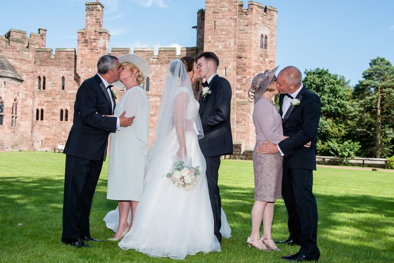 Chelsey & Andy At Peckforton Castle 9
