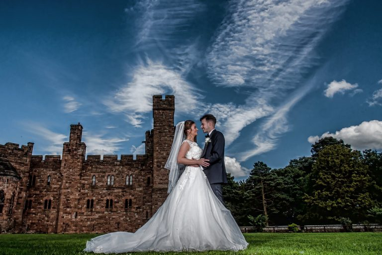 Chelsey & Andy At Peckforton Castle 10