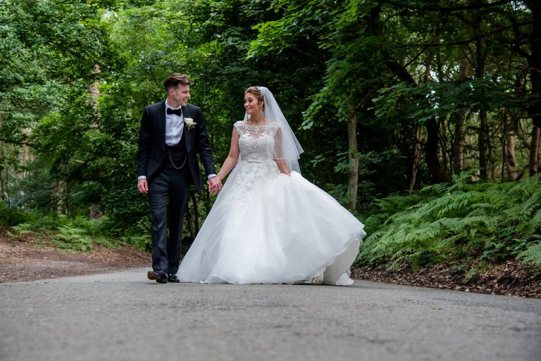 Chelsey & Andy At Peckforton Castle 2