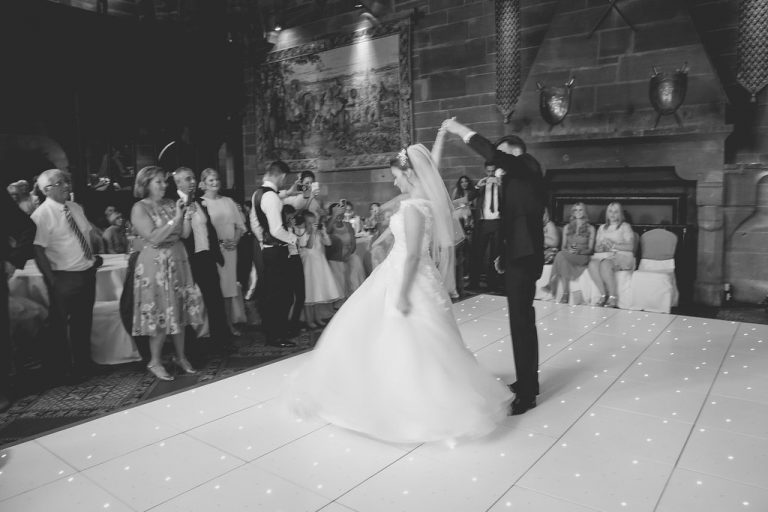 Chelsey & Andy At Peckforton Castle 4