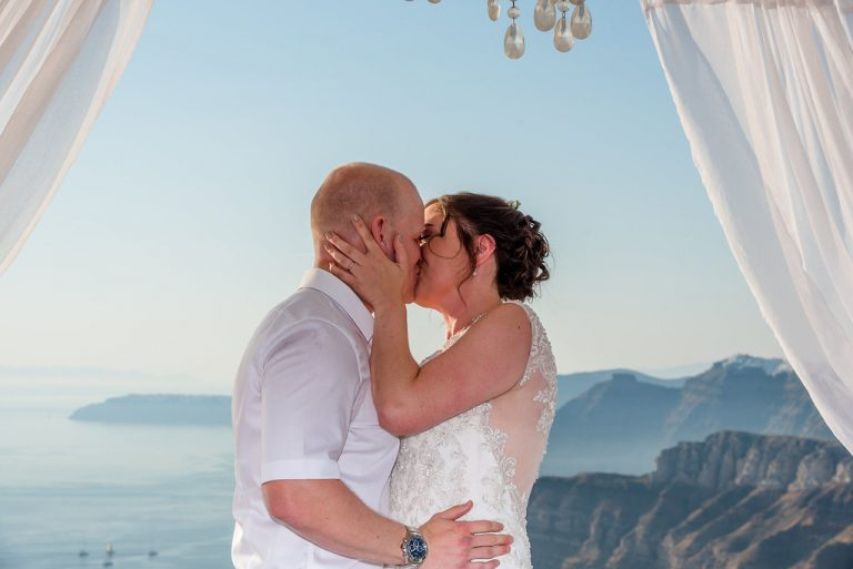Claire & Jonathan In Santorini 5