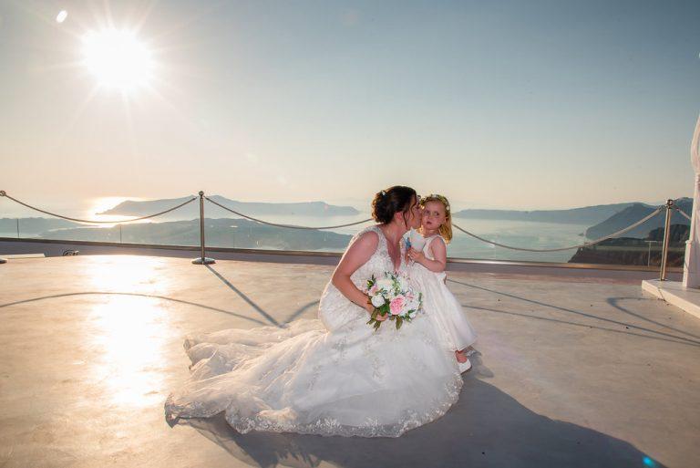 Claire & Jonathan In Santorini 6
