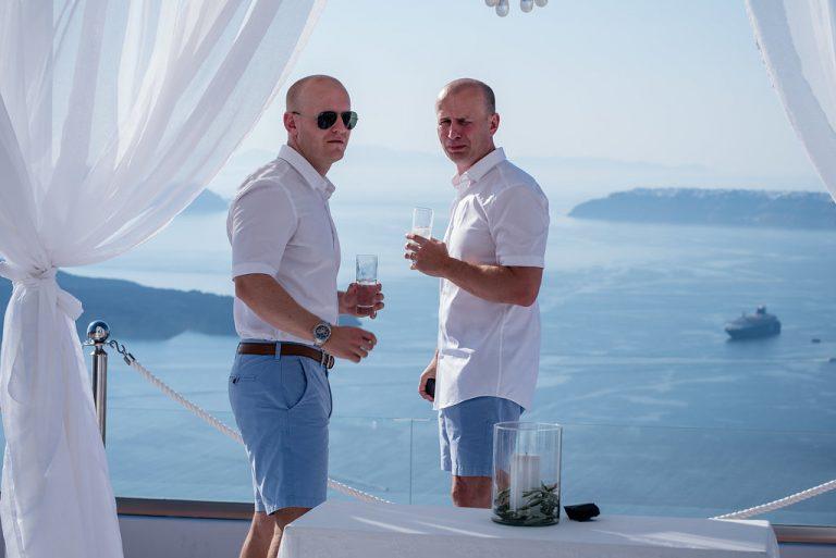 Claire & Jonathan In Santorini 3