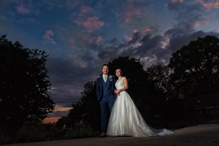 Leanne & Karl At Aston Hall 1