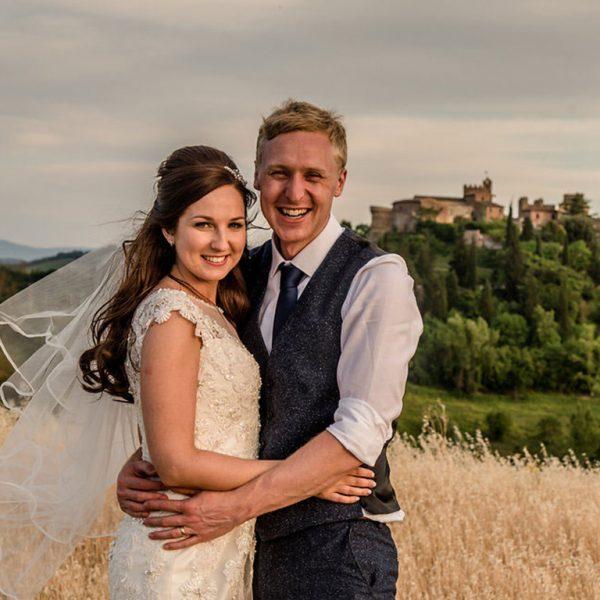 Becky & AlexIn Tuscany Italy 13