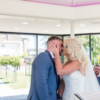 First Kiss at Kings Croft Pontefract