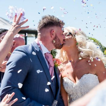Confetti at Kings Croft Pontefract