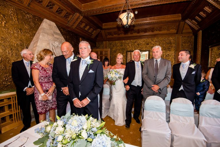 Ceremony at Hazlewood Castle