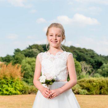 Flower Girl at Waterton Park
