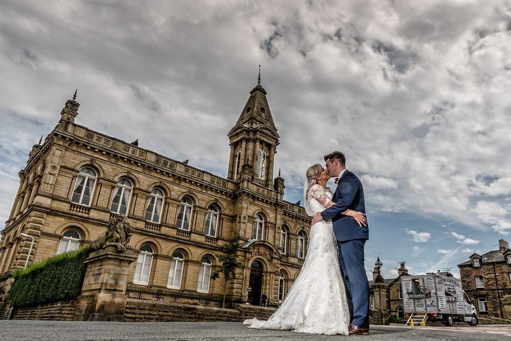 Victoria Hall wedding photograph