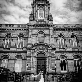 Victoria Hall wedding Photograph