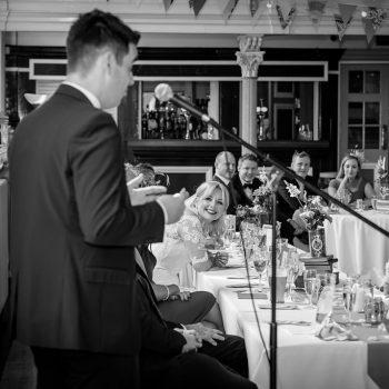 Groom Speech at Victoria Hall
