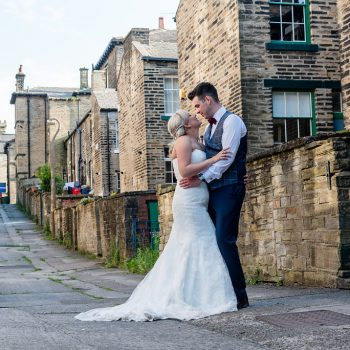 Wedding photograph in Saltaire