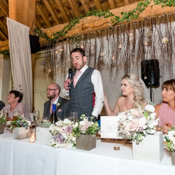 Groom Speech at East Riddlesden Hall