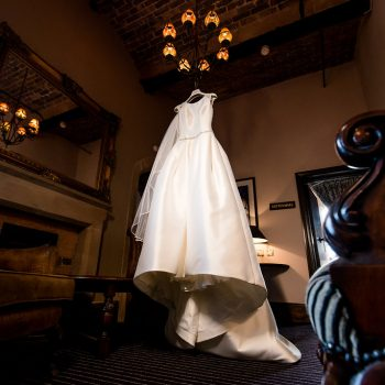 Wedding Dres at Peckforton Castle