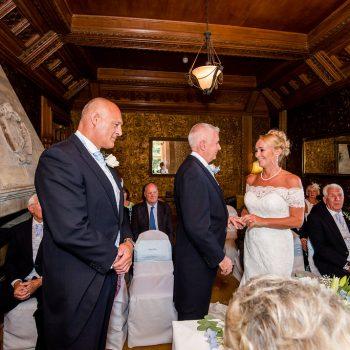 Ceremony at Hazlewood Castle