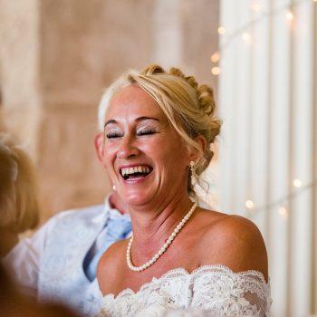 Bride at Hazlewood Castle