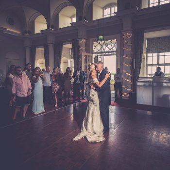 First Dance at Hazlewood Castle