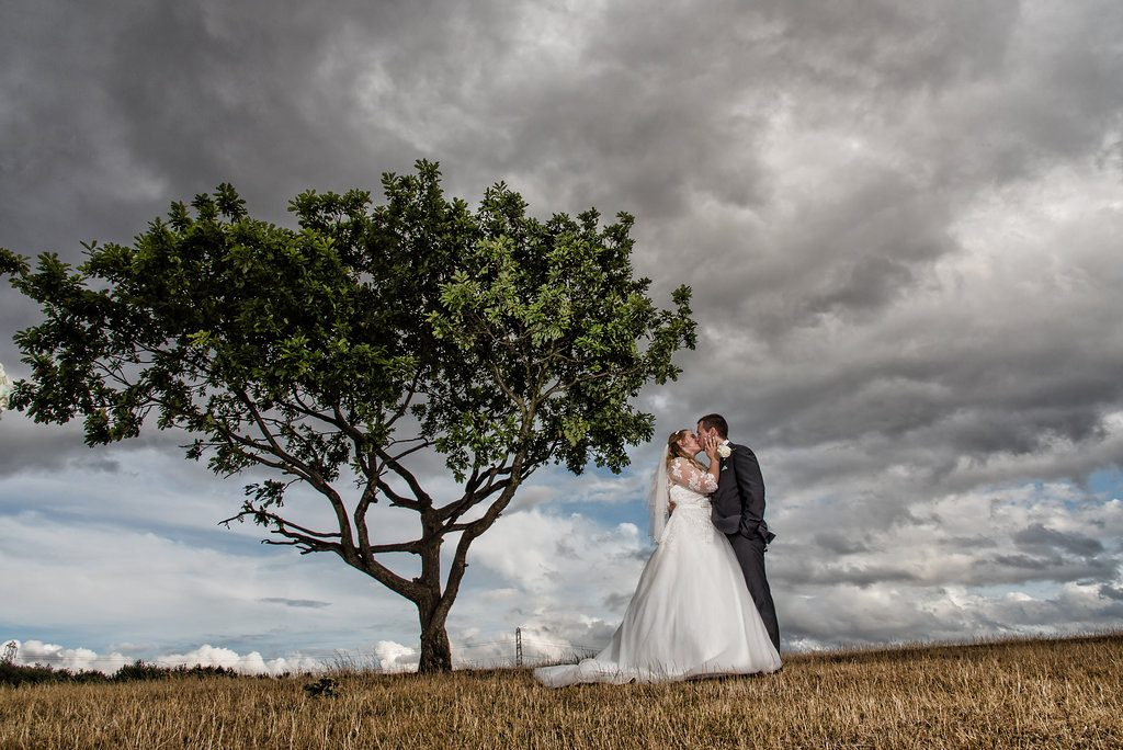 Bride and Groom Photo at Holiday Inn Wakefield