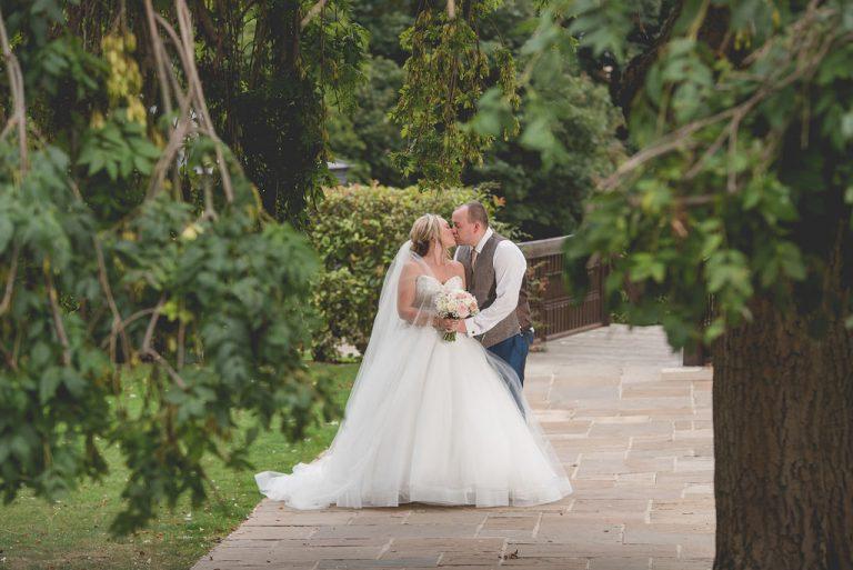 Kings croft bride and groom