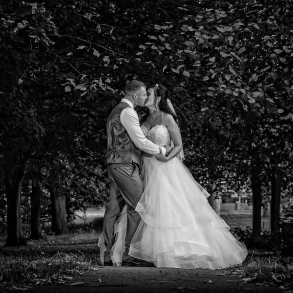 Thornes Park Bride and Groom