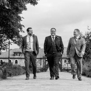 Groomsmen at Waterton Park