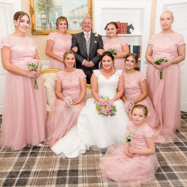 Bridal Party at Kings Croft
