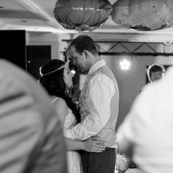 First Dance Waterton Park Wedding Photographer