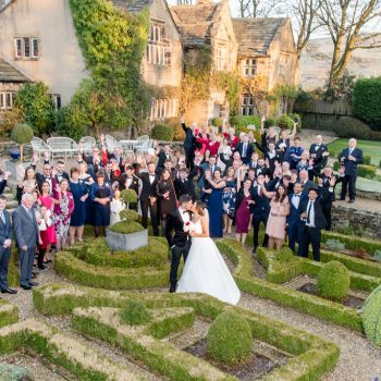 Wedding Party at Holdsworth House