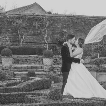 Bride and Groom at Holdsworth House
