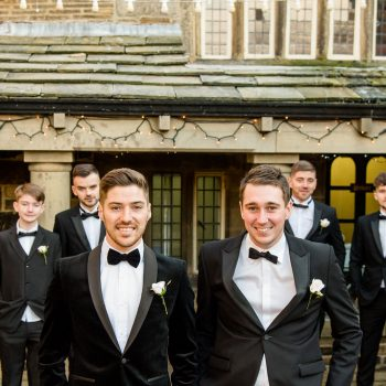 Groomsmen at Holdsworth House