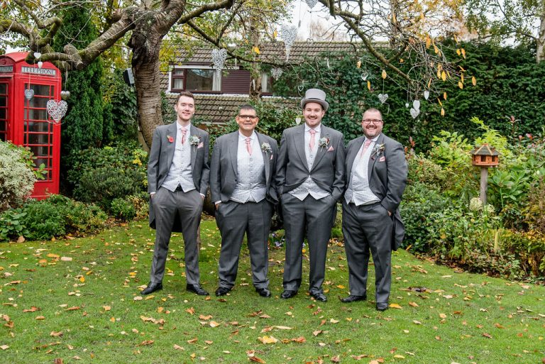 Grooms at Dimple Well Lodge
