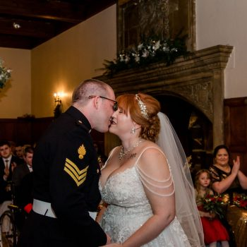 First Kiss at Monk Fryston Hall