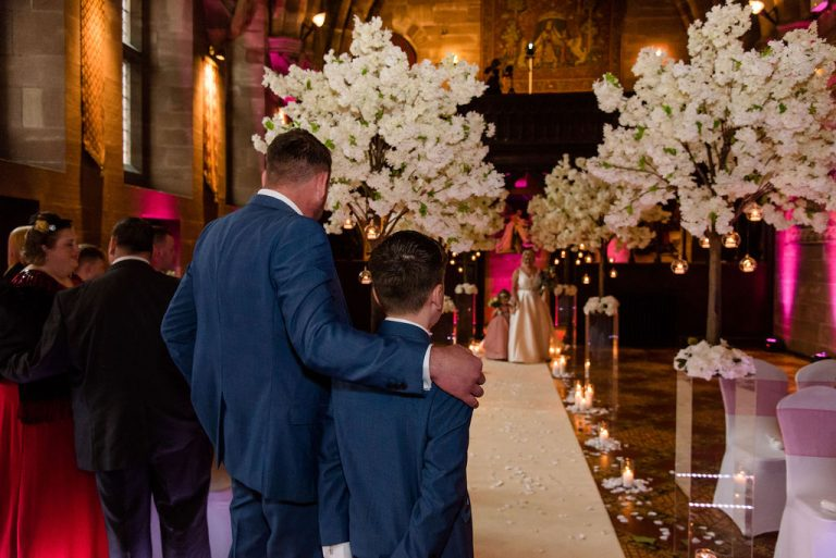 Bridal entrance at Peckforton Castle