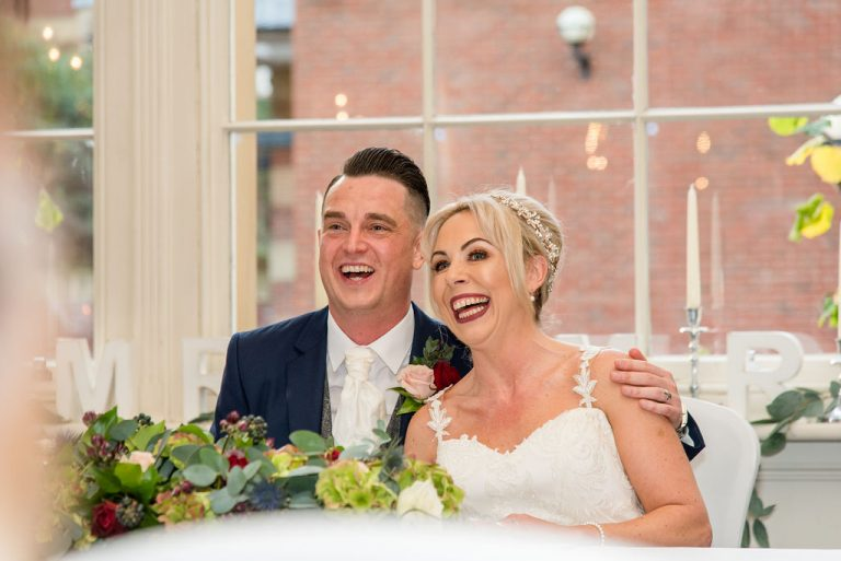 Bride and Groom at Oulton Hall