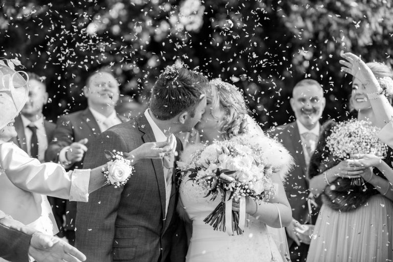 Confetti at Waterton Park Hotel