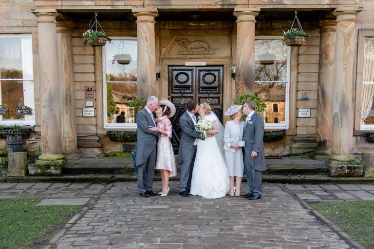 Family photograph at Waterton Park Hotel