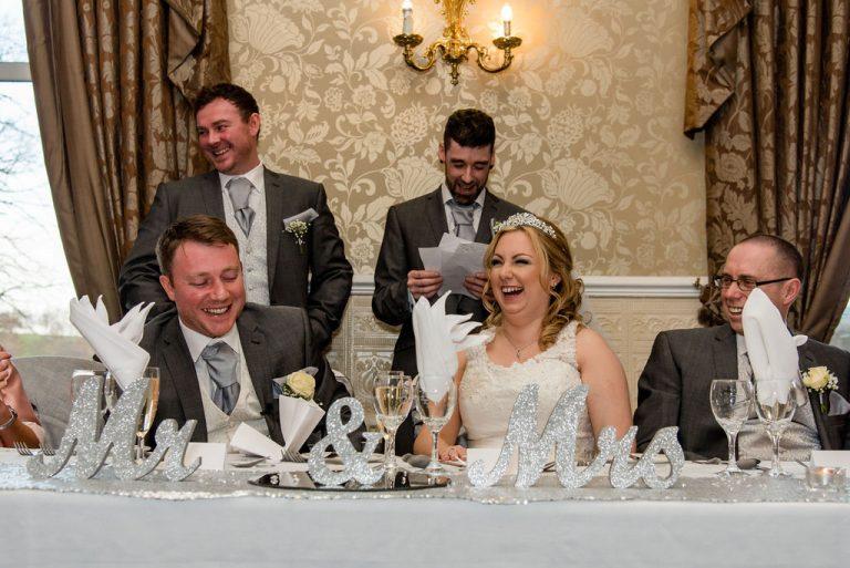 Speeches Waterton Park Hotel Wedding