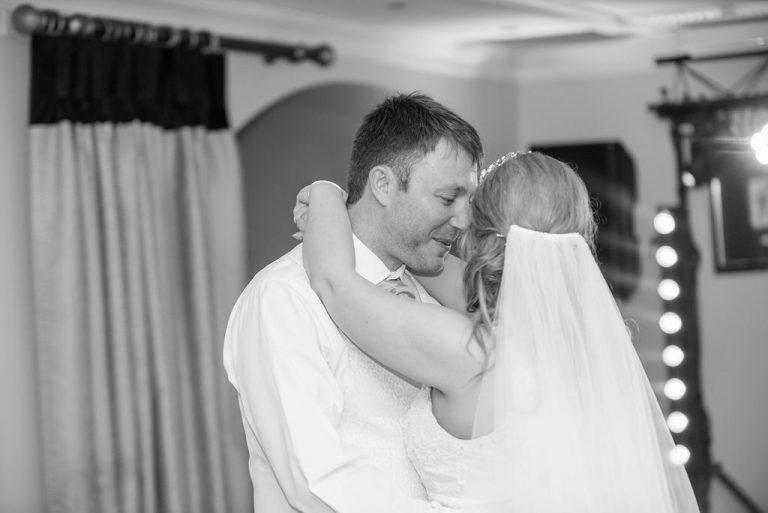First dance Waterton Park Hotel Wedding
