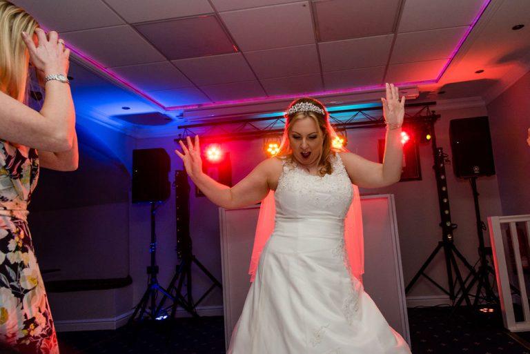 Bride Waterton Park Hotel Wedding