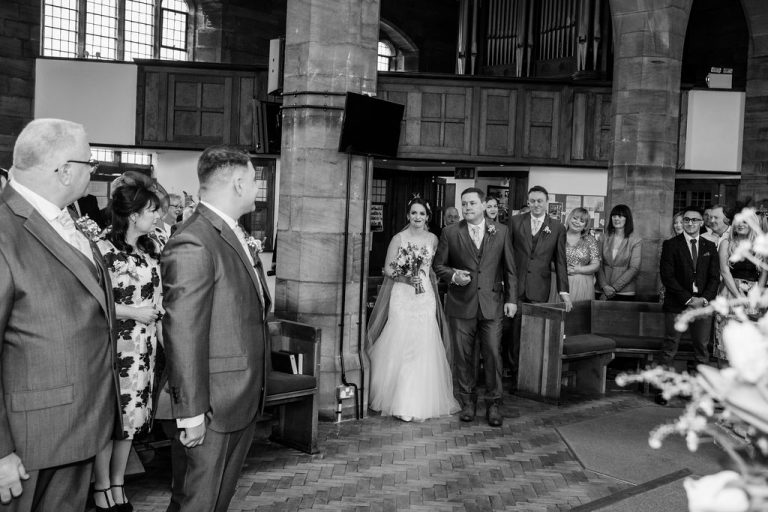 Bride at Wakefield Wedding