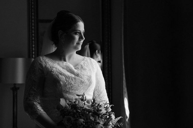 Bride at Oulton Hall near Wakefield