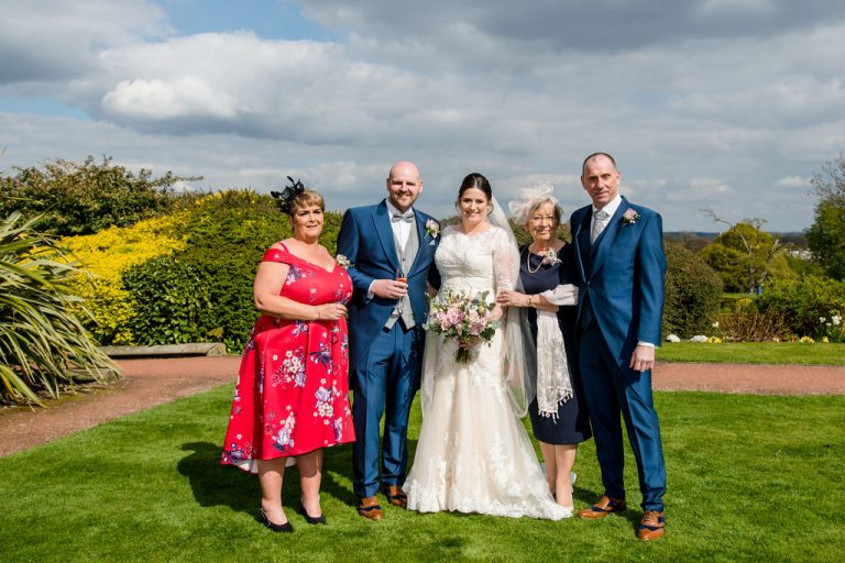 Group photos at Oulton Hall near Wakefield