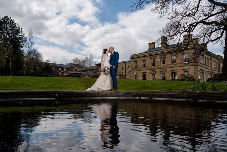 Wakefield wedding photographer at Oulton Hall near Wakefield