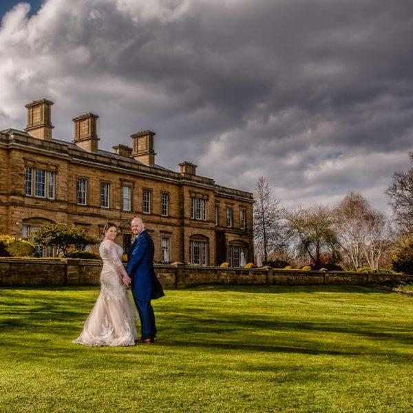 Wakefield wedding photographer at Oulton Hall near Wakefield